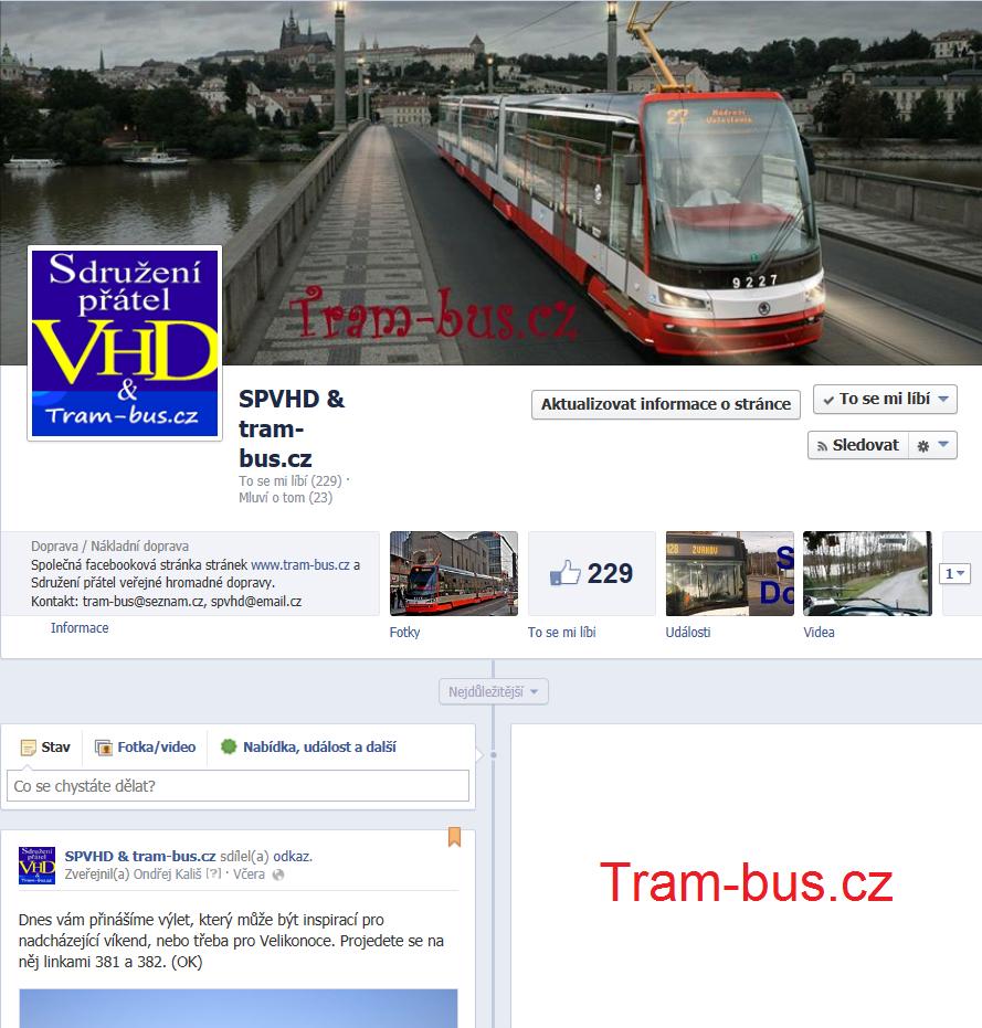 Facebook stránek