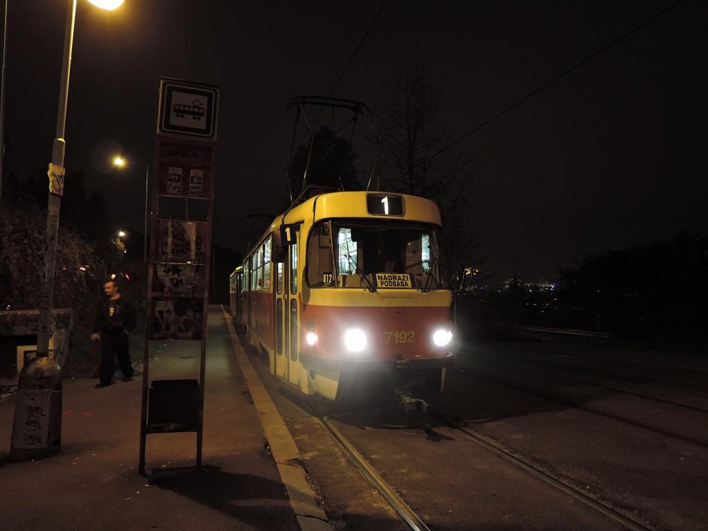 4826 - linka 1 Krejcárek DPP Tatra T3SUCS 7192