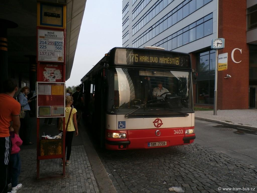 linka 176 Citybus 12M Nové Butovice 2014