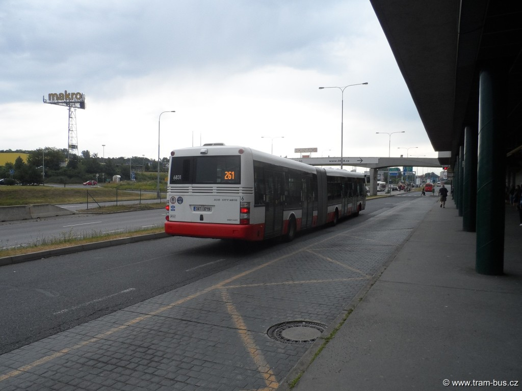 linka 261 SOR NB 18 Černý Most 2014
