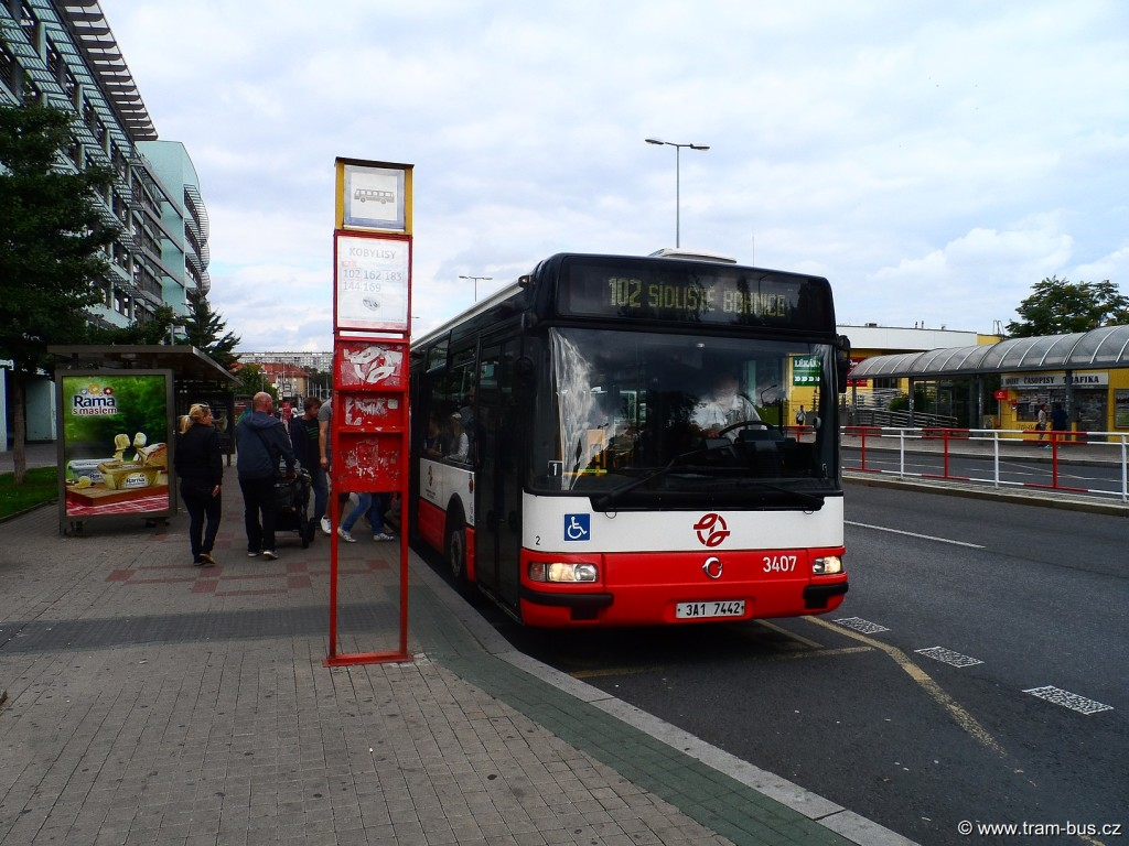 Linka 144 Citybus 12M Kobylisy 2014