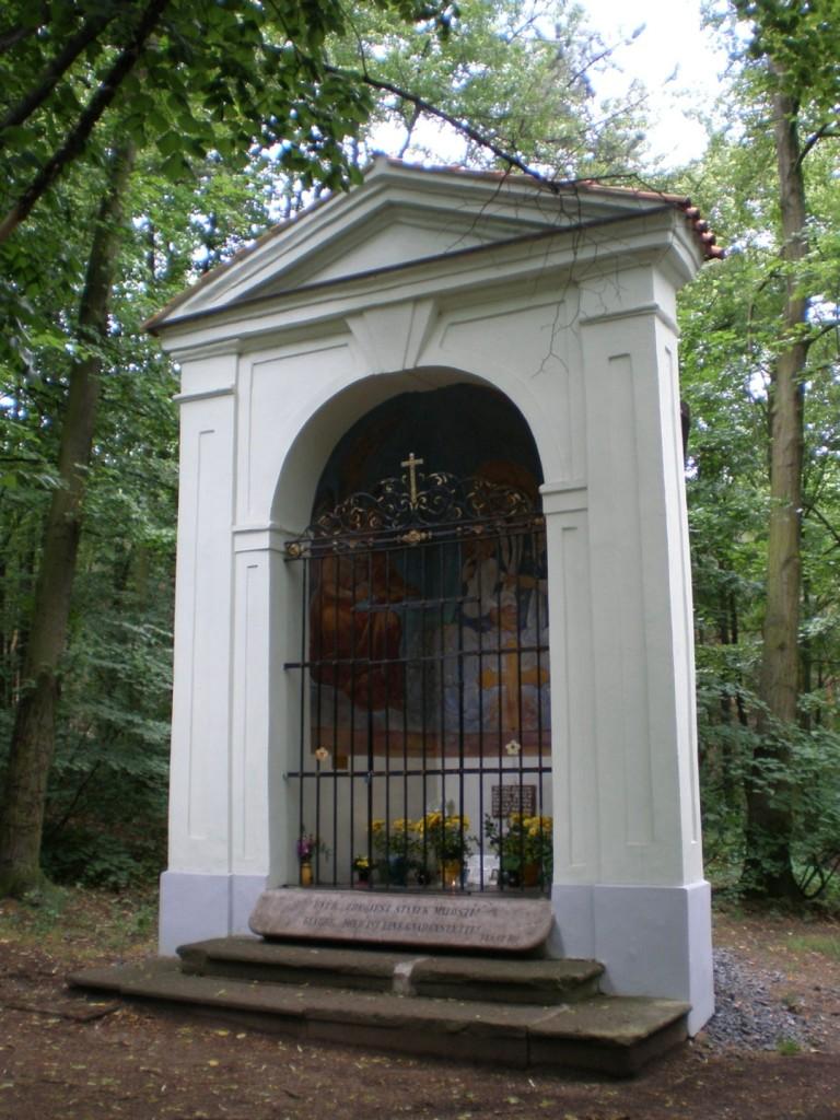 294 - kaple Panny Marie u Baní