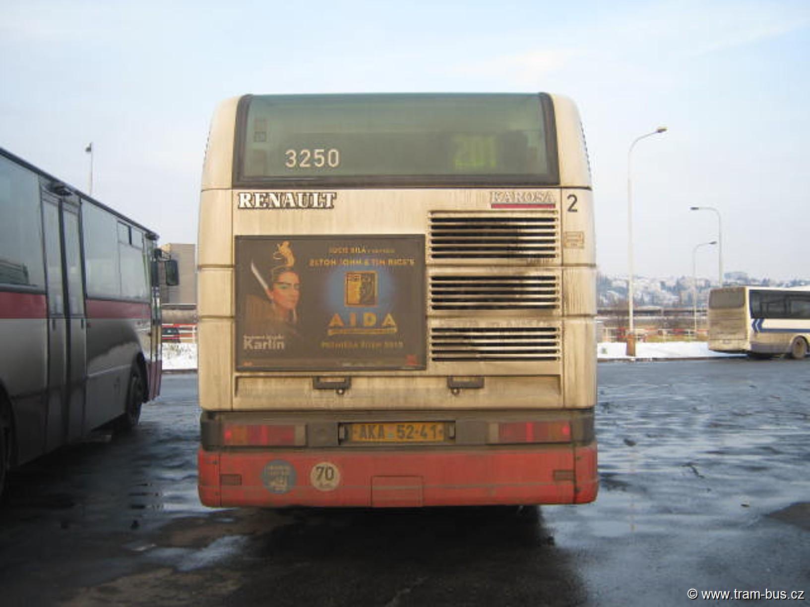 linka 201 Citybus Nádraží Holešovice 2013