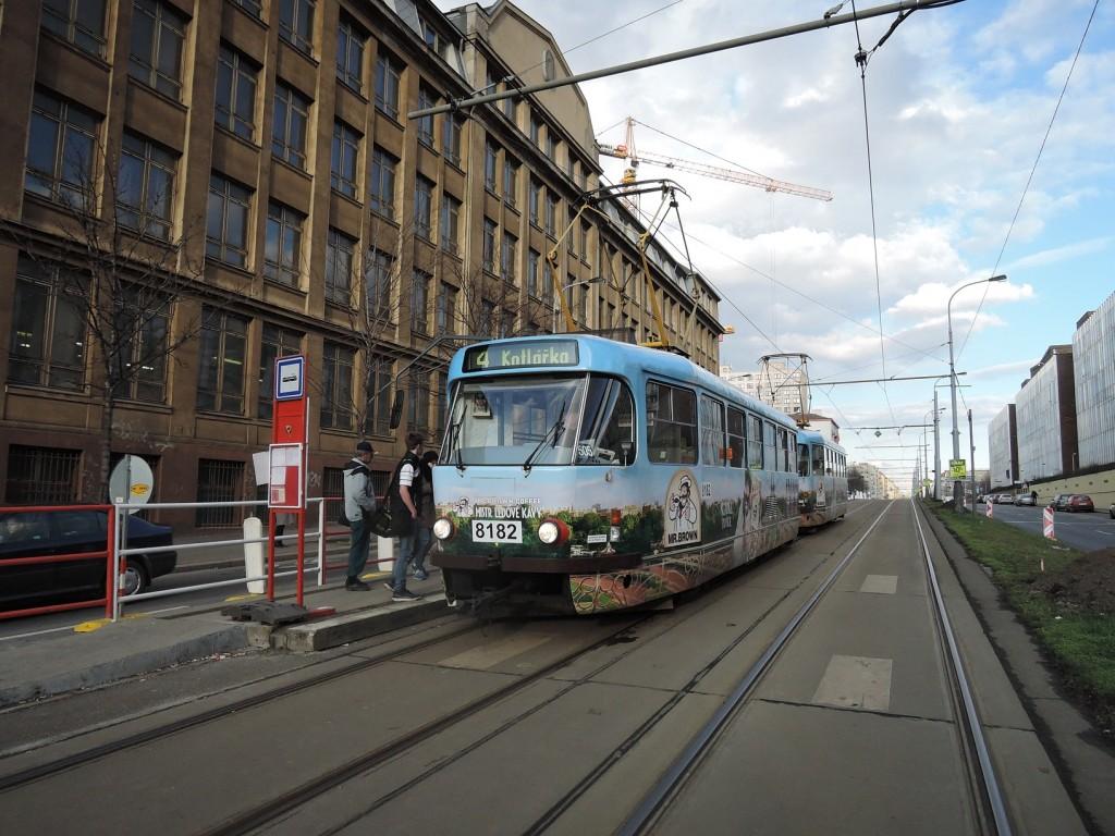 5514 - linka 4 Koh-i-noor DPP Tatra T3R.PV 8182