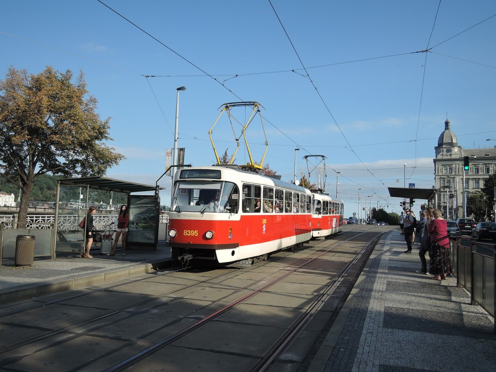 6693 - linka 7 Palackého náměstí DPP Tatra T3R.P 8395