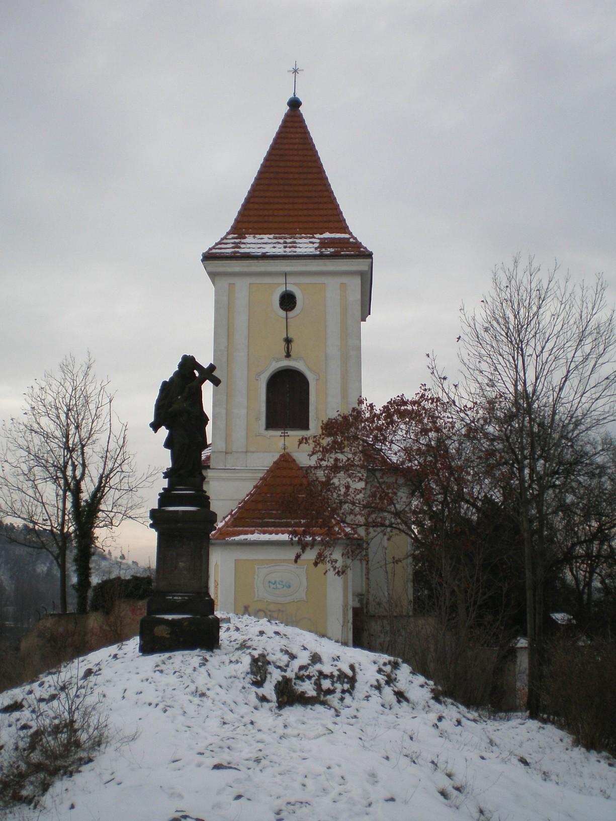 947 - Zlíchov - kostel svFilipa a Jakuba