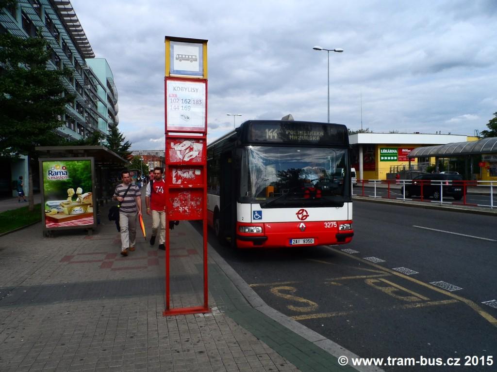 2342 - linka 144 Kobylisy DPP Irisbus Citybus 12M 3275