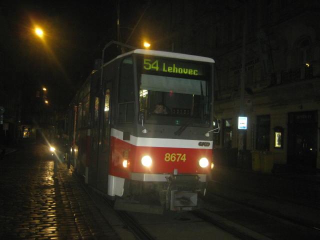 linka 54 na Lazarské