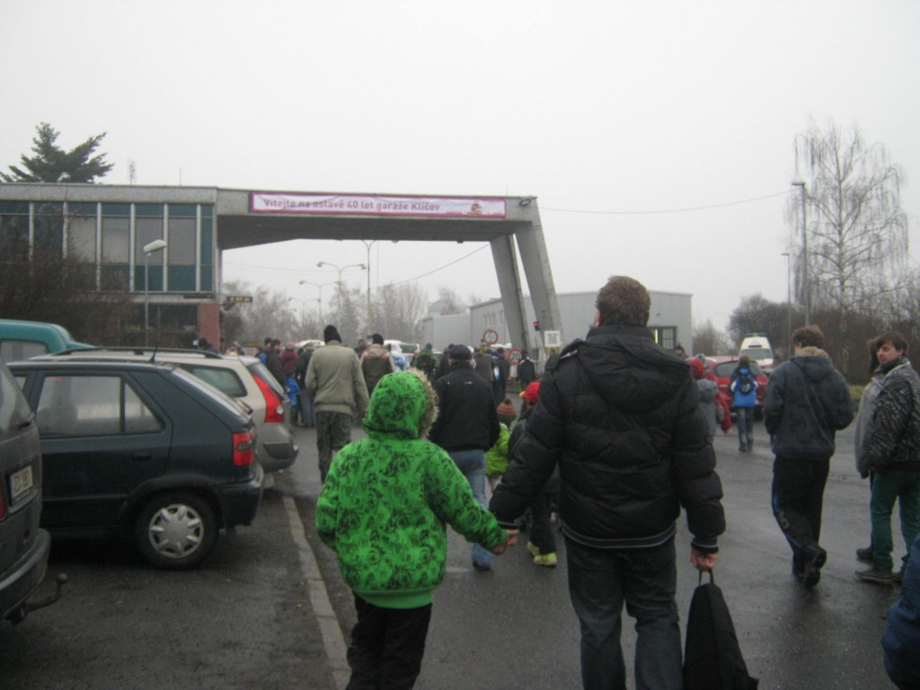 vchod do Garáže Klíčov