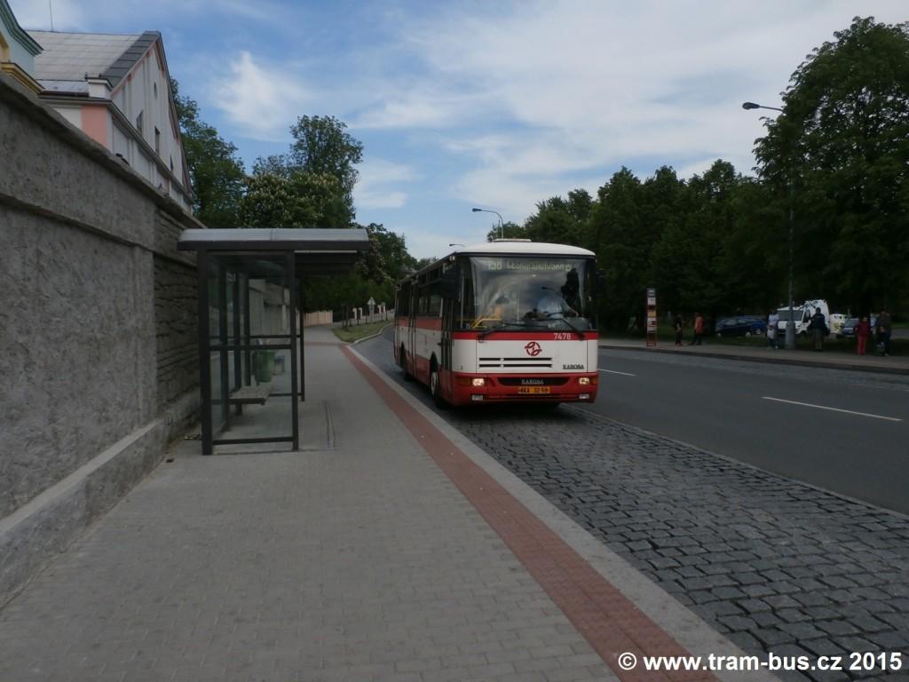 3847 - linka 158 Čakovický zámek DPP Karosa B 931 7478