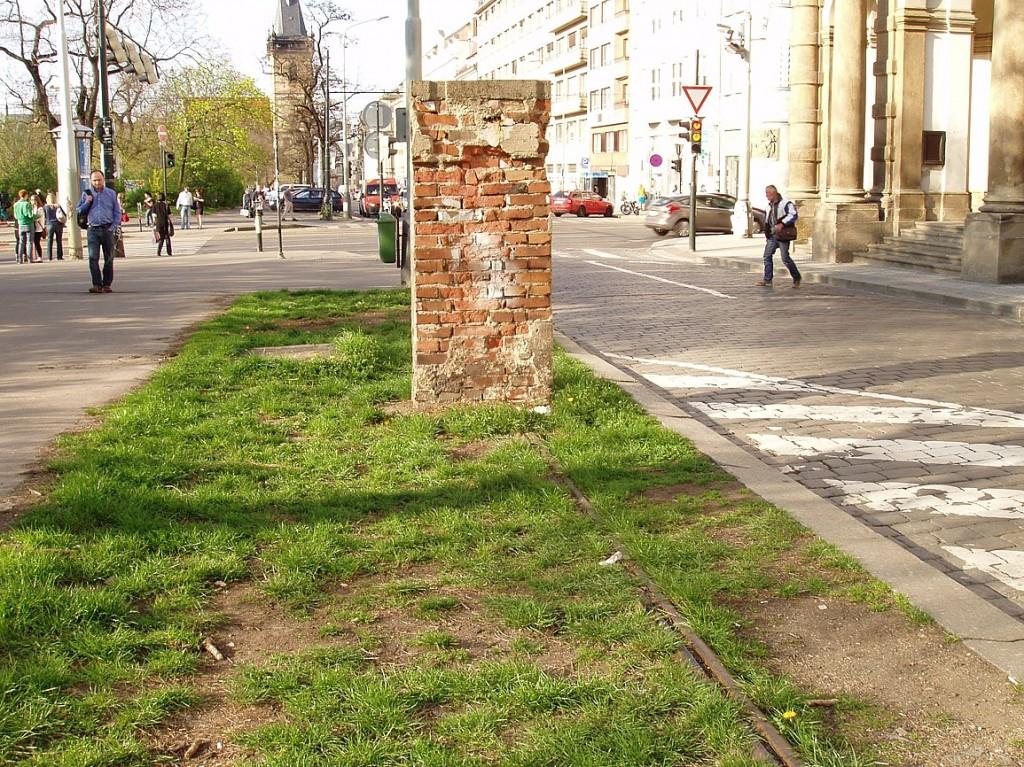 kolejnice na Karlově náměstí