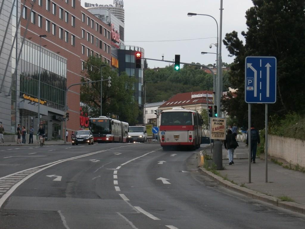 3838 - linka 177 Vysočanská DPP Karosa B 741 6150 a SOR NB 18 6694