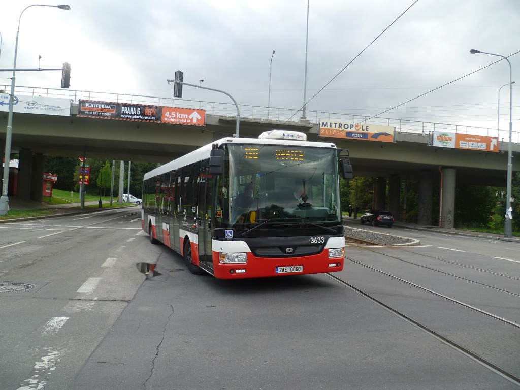 4311 - linka 180 Motol DPP SOR NB 12 3633