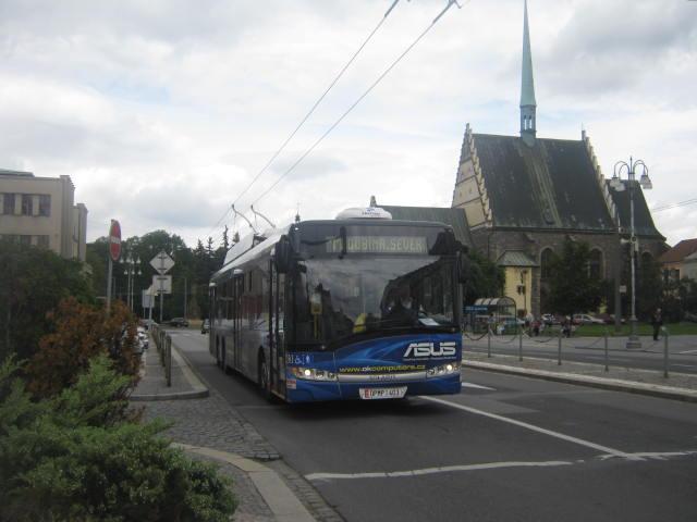trolejbus na lince 11
