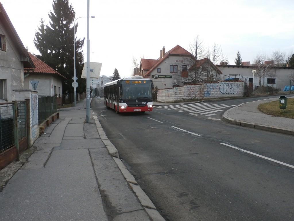 3411 - linka 175 Na Vartě DPP SOR NB 12 3529