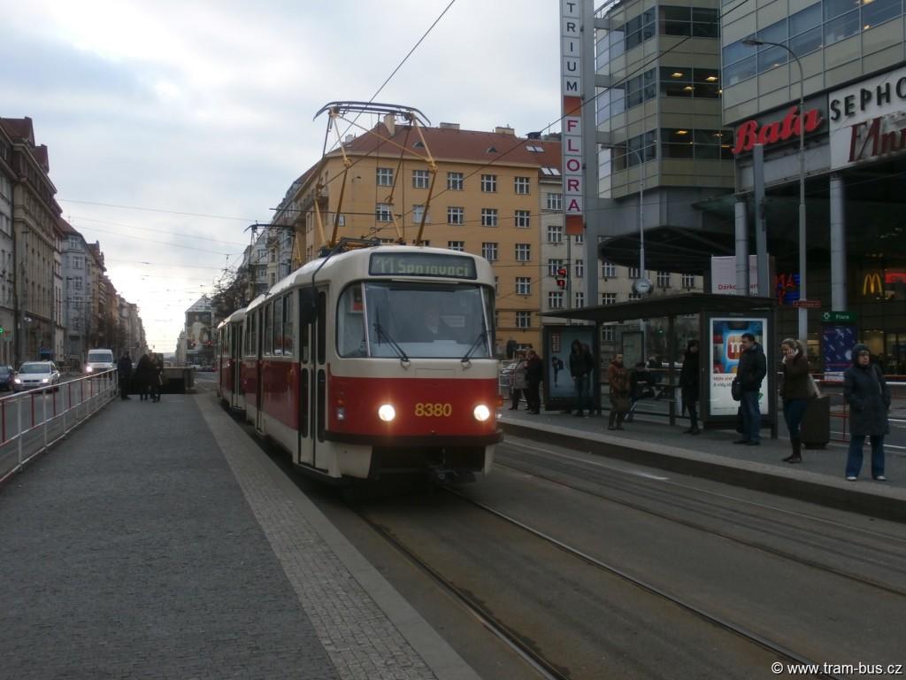 linka 11 Tatra T3R.P Flora 2015