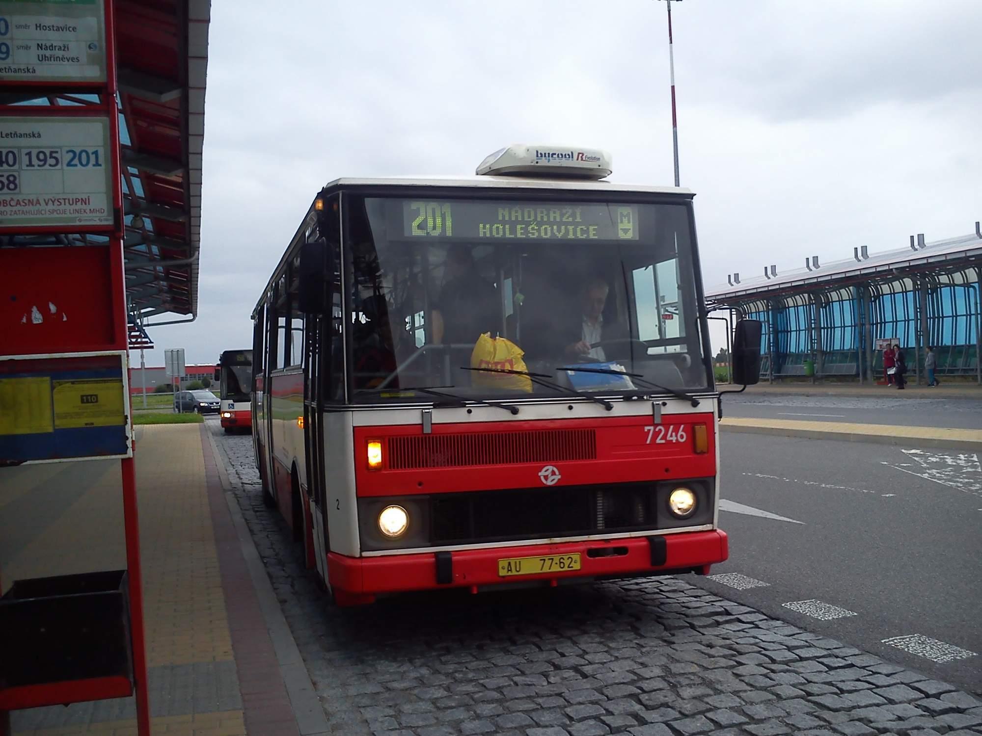 Karosa B 731 linka 201