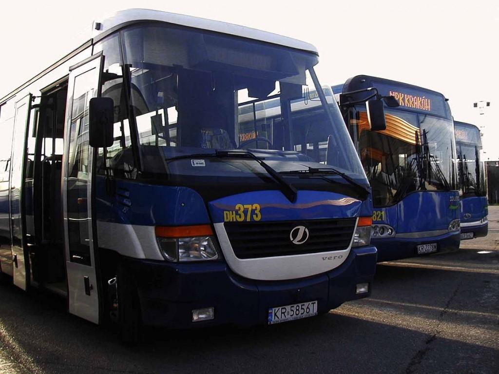 Krakov - autobusy