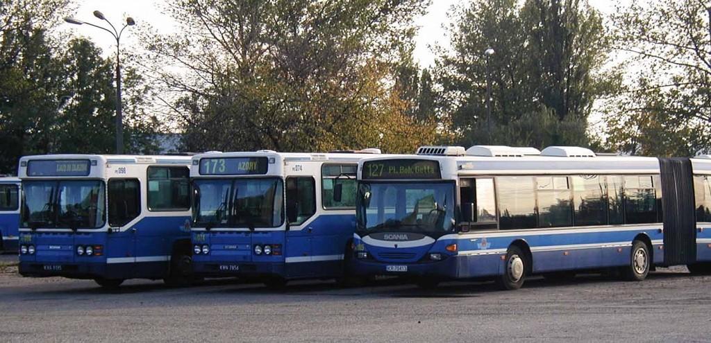 Krakov - autobusy 2
