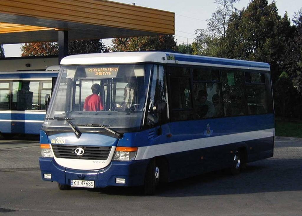 Krakov - autobusy 3