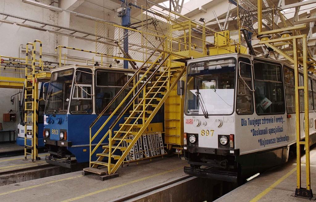 Krakov - tramvaje 2