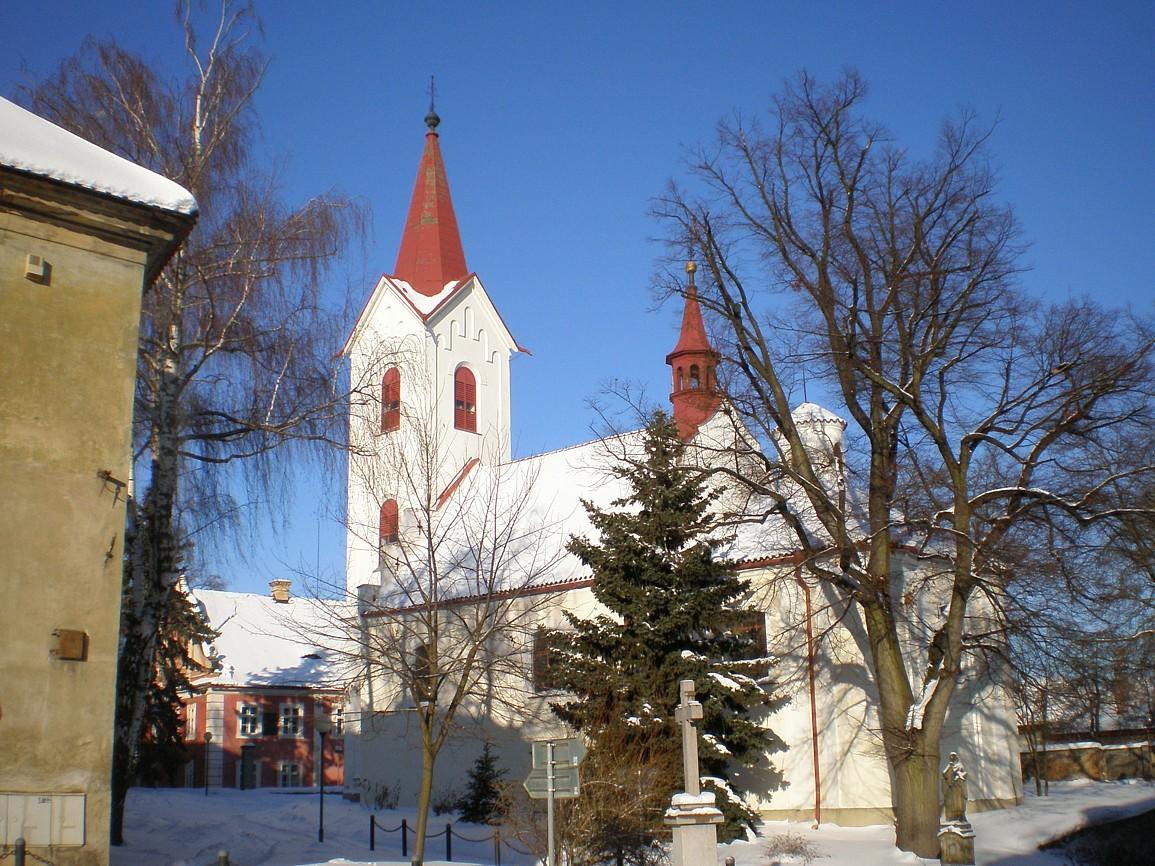 Ořech - kostel Stětí svJana Křtitele