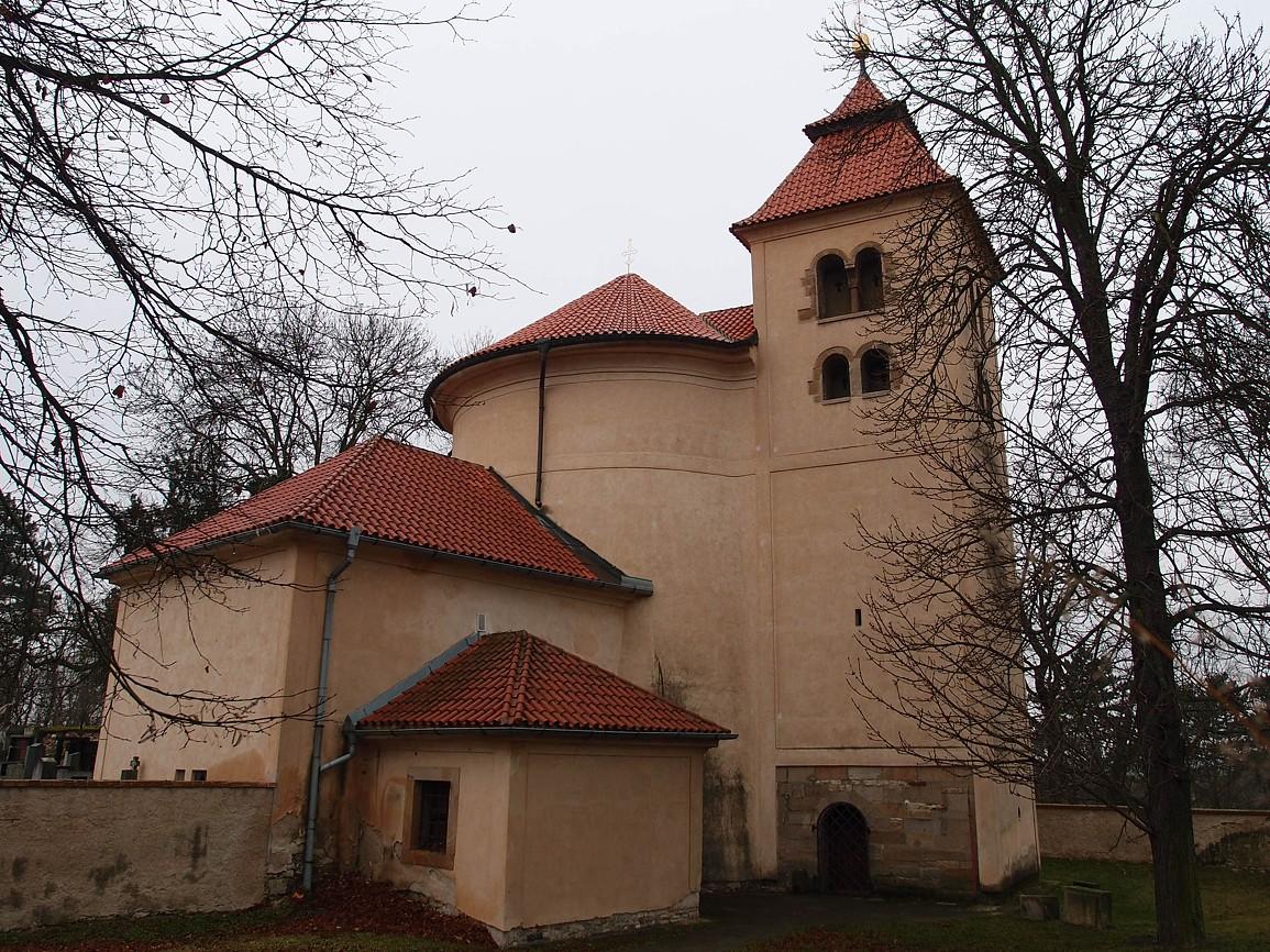 Budeč - rotunda svPetra a Pavla