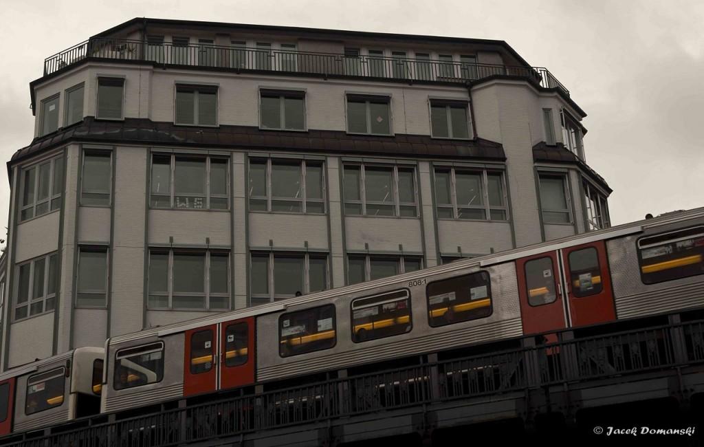 """Hamburská """"Hochbahn"""""""