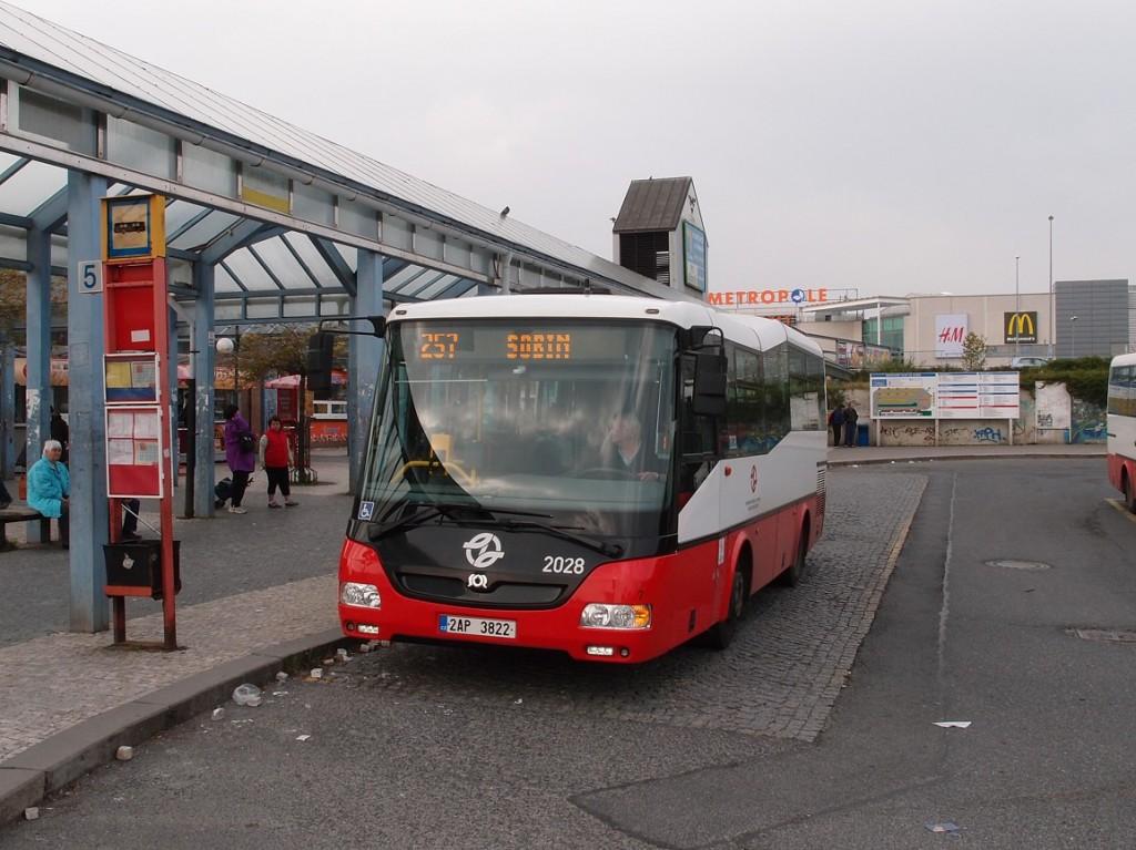 linka 257 na Zličíně