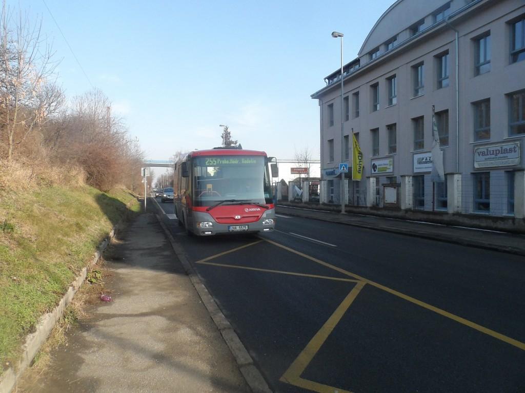 linka 255 na Vražský