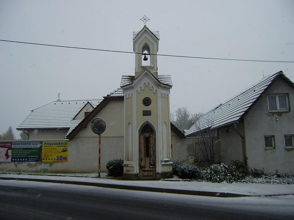 Sobín - kaplička
