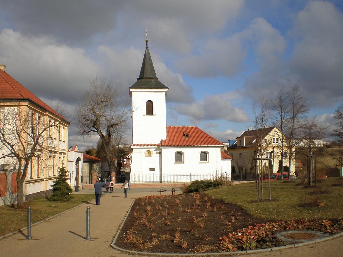 Řepy - kostelík svMartina