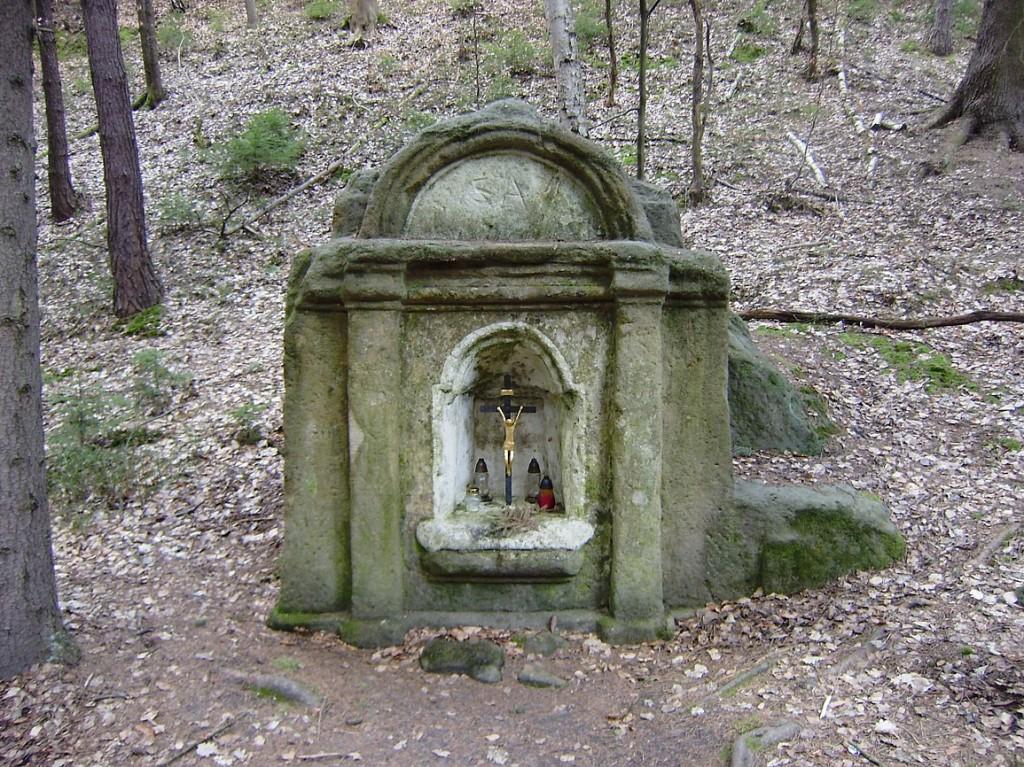 kaplička v Boudecké rokli