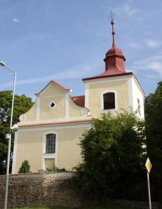 Kolovraty - kostel svOndřeje