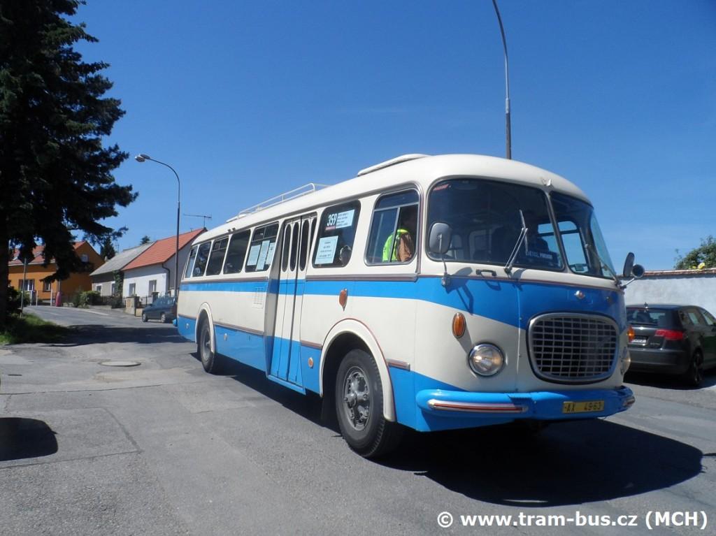 Škoda 706 RTO na Levém Hradci