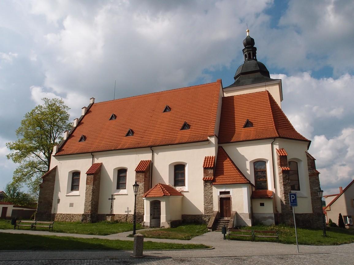Vlašim - kostel svJiljí
