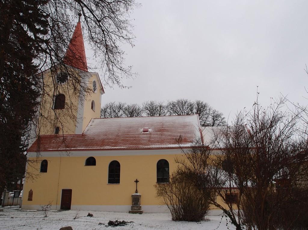 436 - Ondřejov - kostel sv. Šimona a Judy