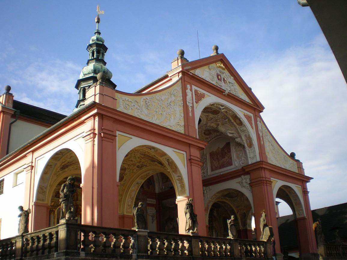 Svatá hora - kostel Panny Marie