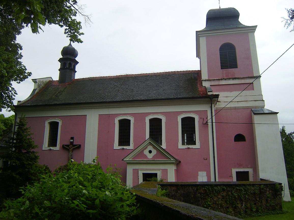 Zbečno - kostel svMartina