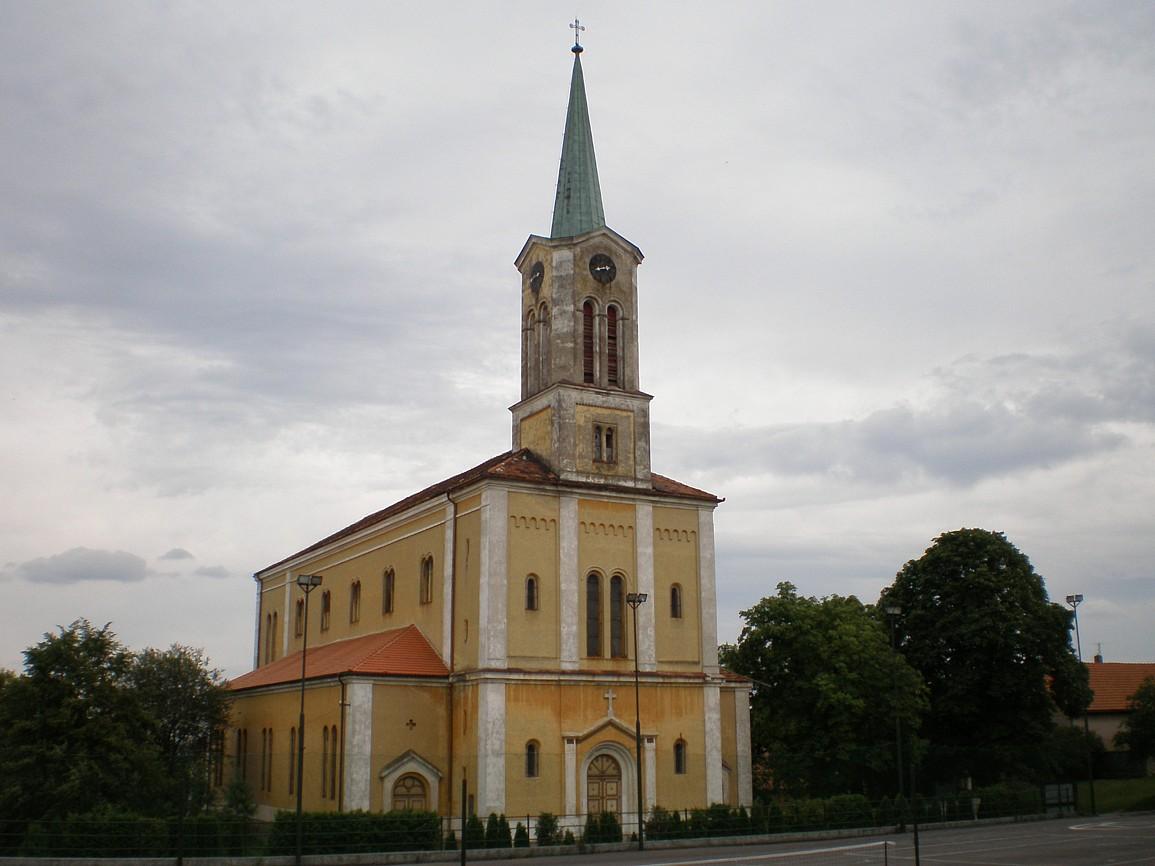 Hudlice - kostel svTomáše