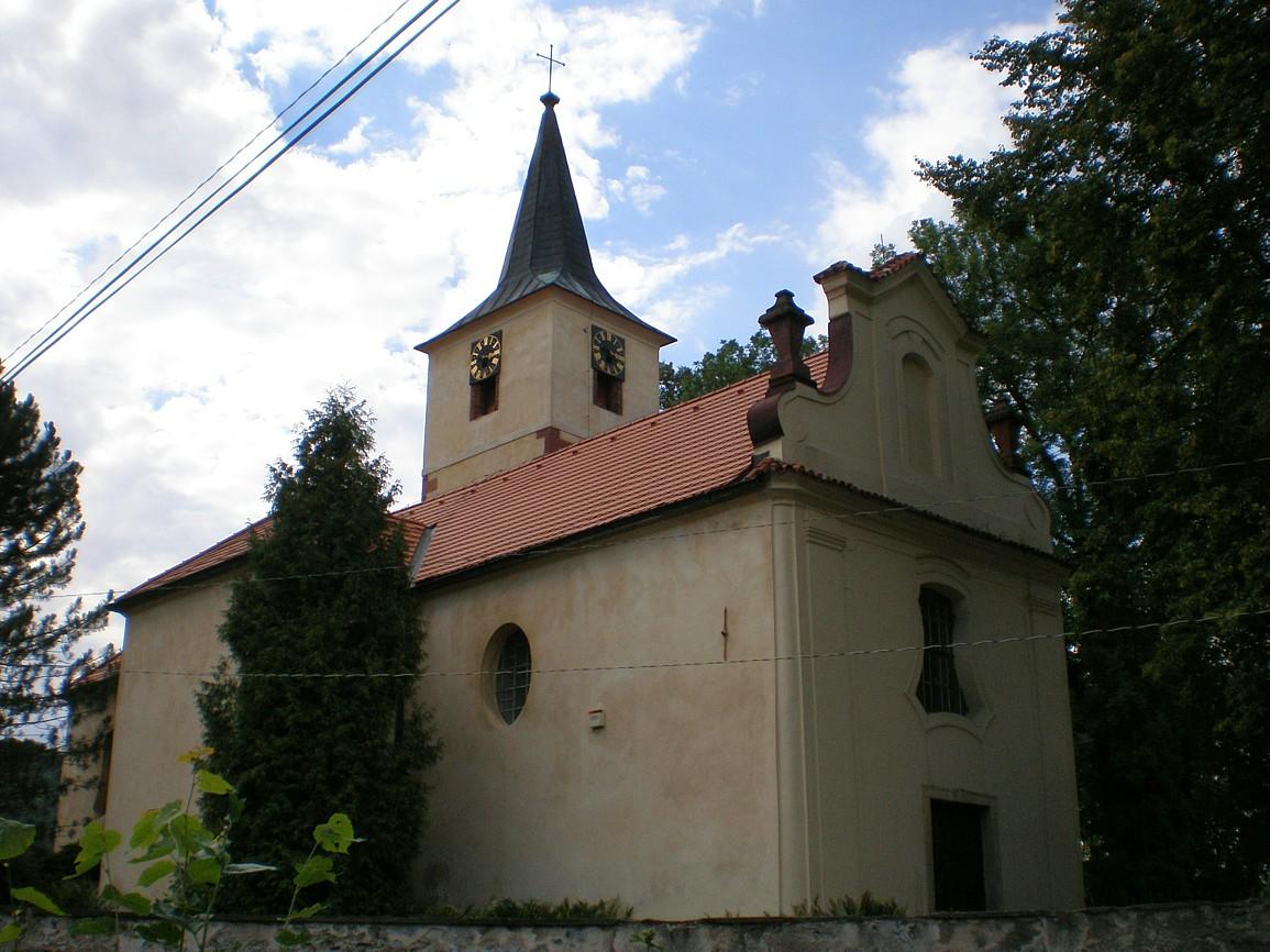 Sázava - kostel svMartina