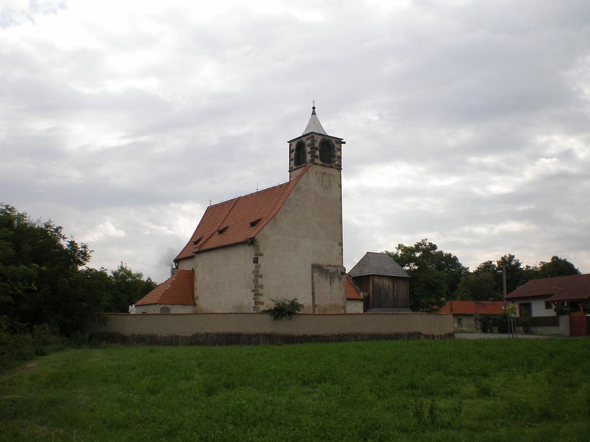 Libiš - kostel svJakuba