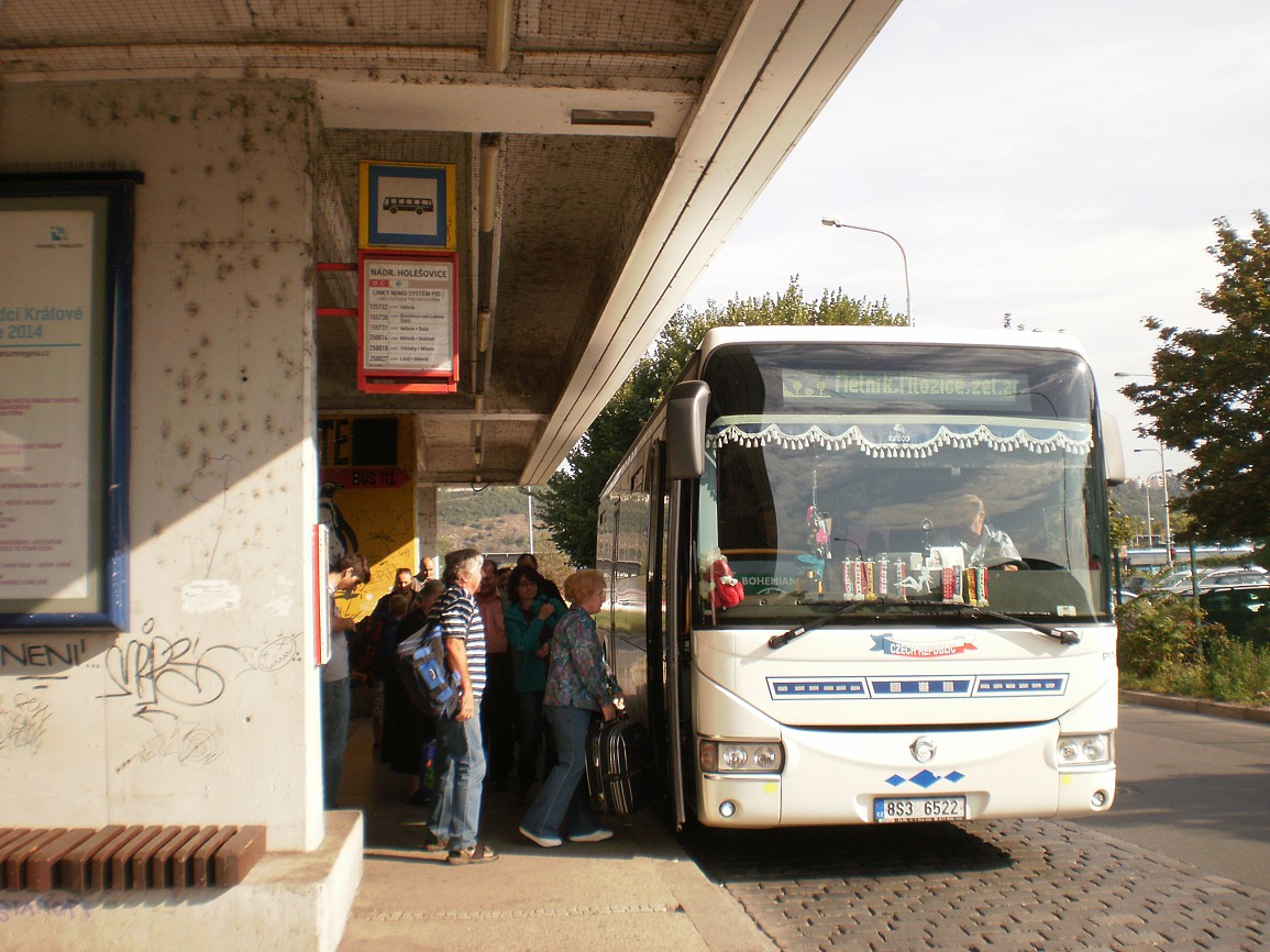 linka 155731 směr Mělník,Mlazice,žel zast na Nádraží Holešovice