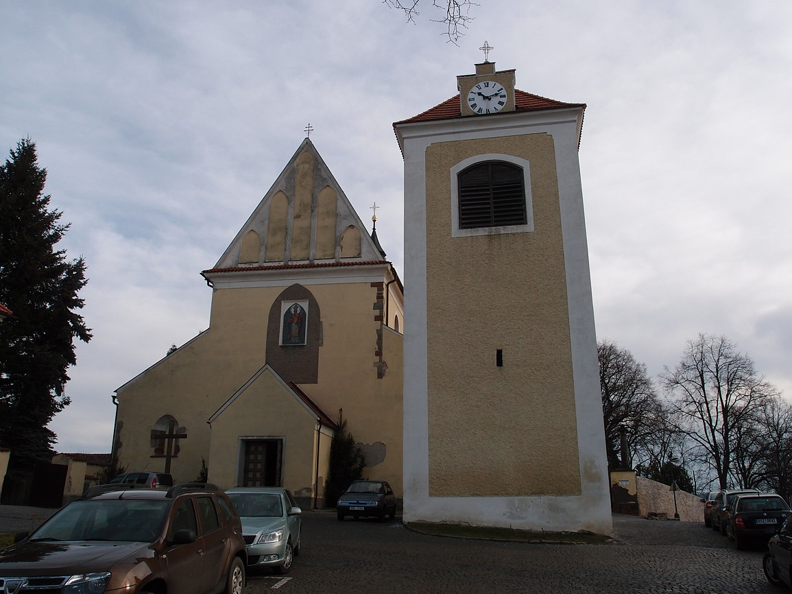 Benešov - kostel svMikuláše