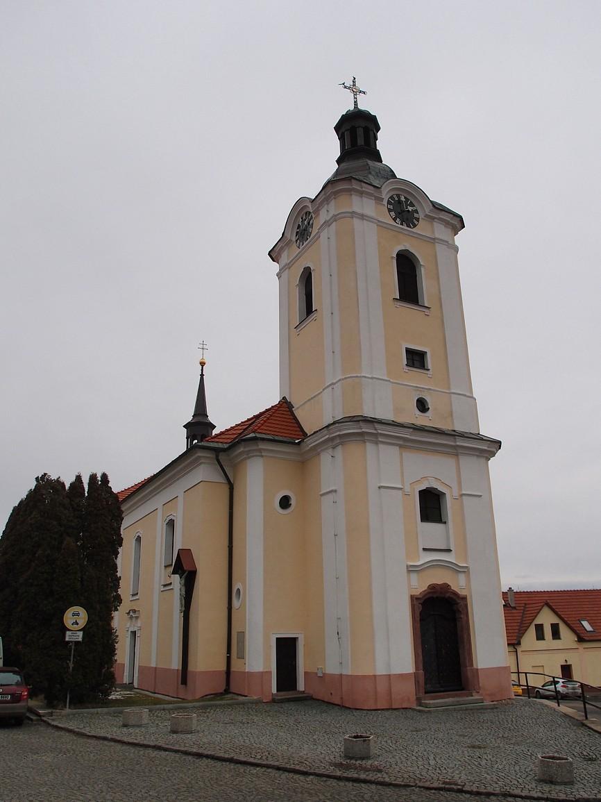 Divišov - kostel svBartoloměje