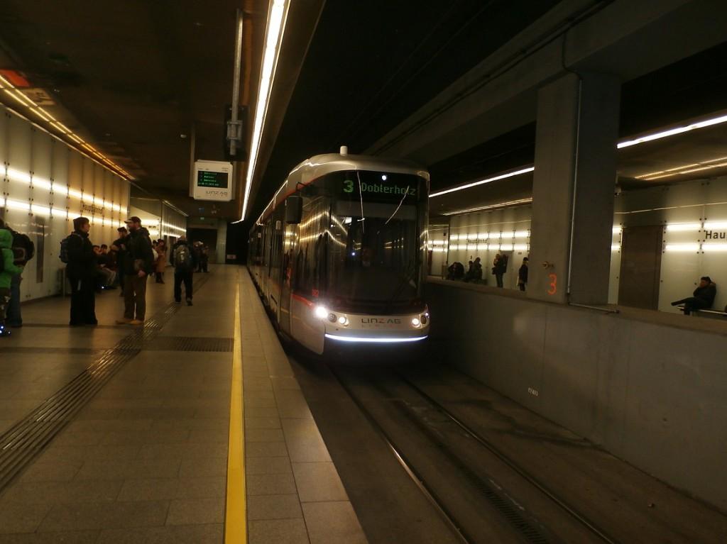 linka 3 na Hauptbahnhof