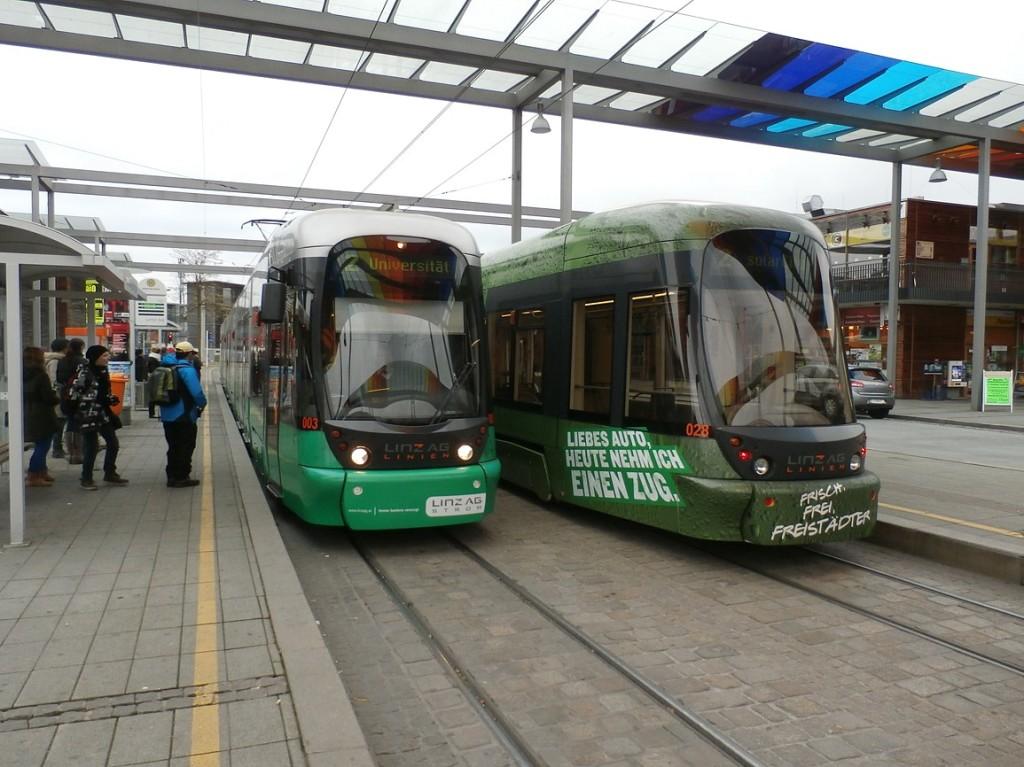 zastávka SolarCity zentrum