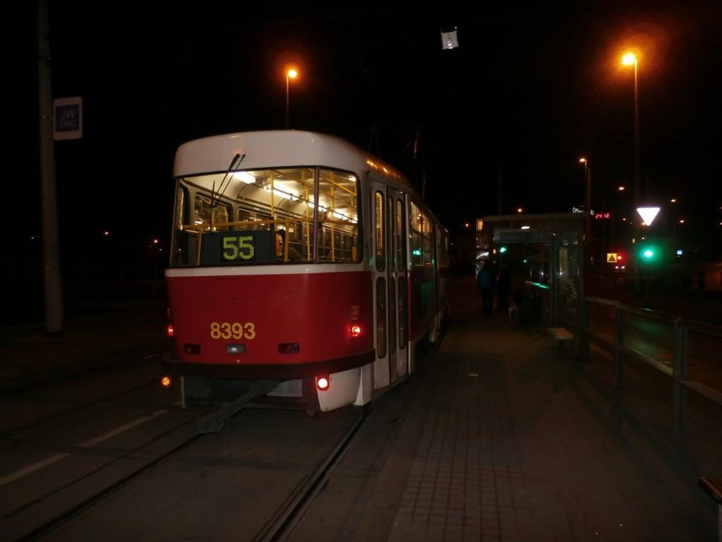 linka 55 na Kobylisy