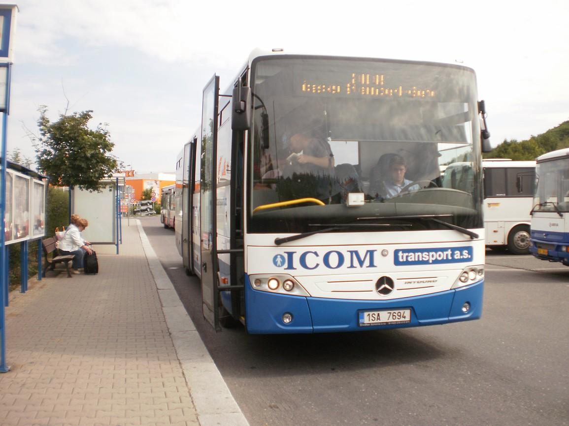 linka 200091 po příjezdu na Roztyly