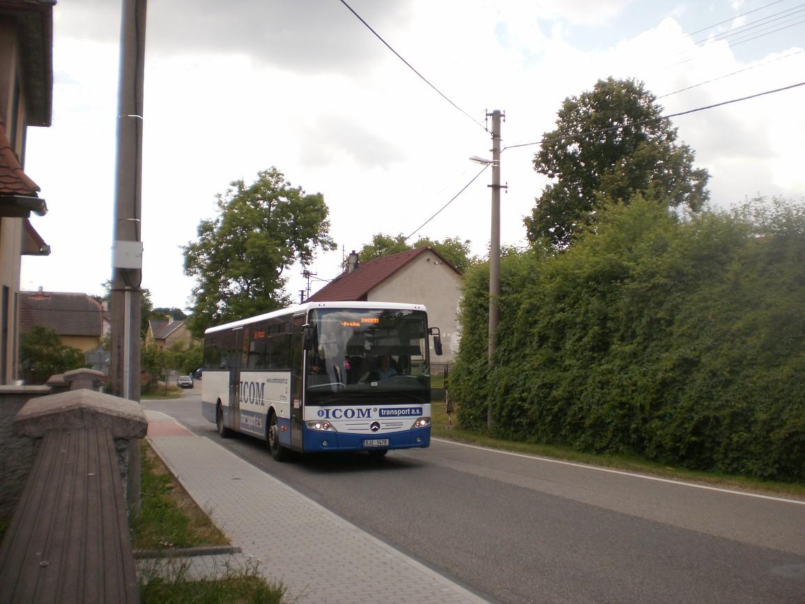 linka 200091 směr Praha v Divišově